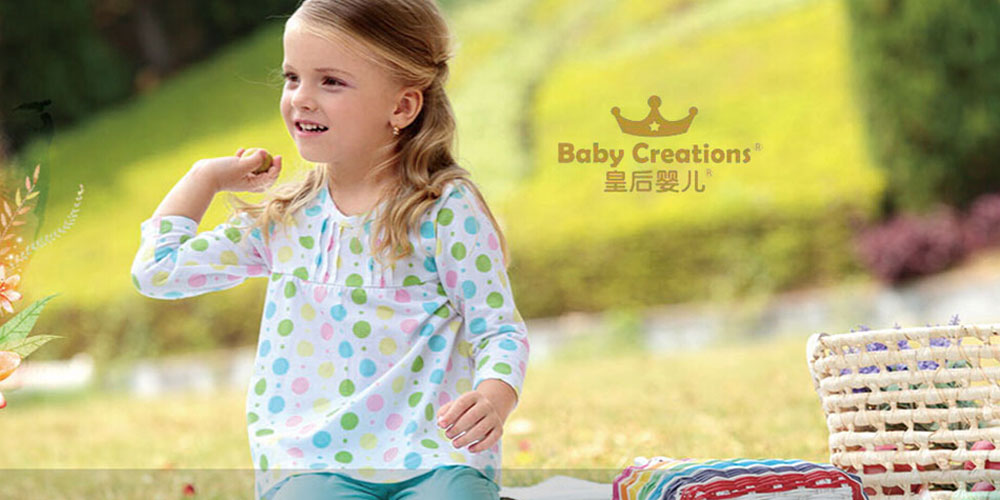 皇后婴儿童装形象图片