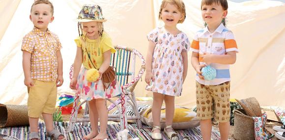 放飞想象图吖婴童服饰诠释真童年