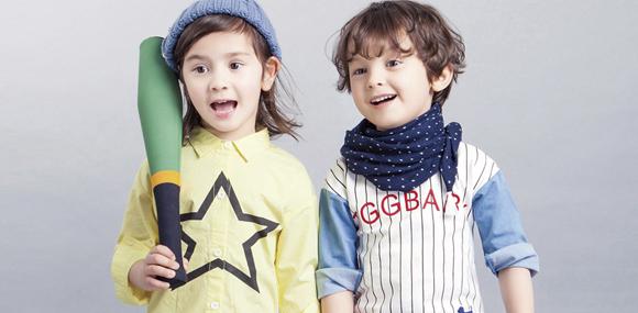 可爱100童装打造中国日韩儿童用品品牌