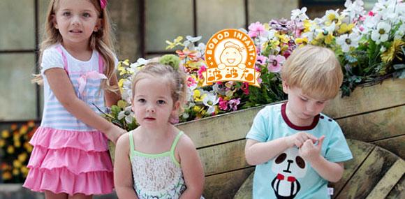 波波龙BOBOD INFANT 简约潮流 国际童装品牌