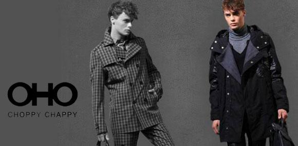 OHO时尚潮流的都市男装