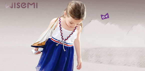 威斯米启迪儿童想象力的时尚彩装品牌童装