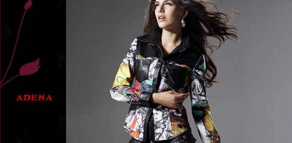 阿弟娜 ADENA  皮衣皮草时装化品牌