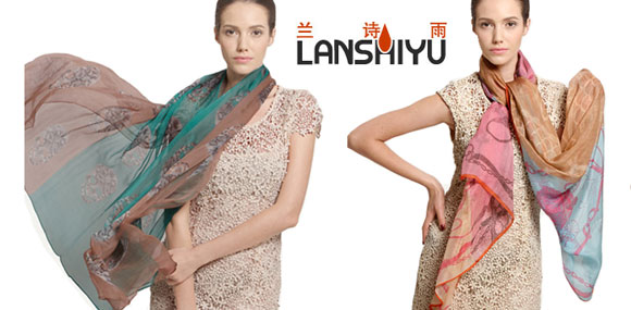 lanshiyu优雅的爱自己 兰诗雨围巾
