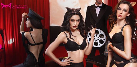 猫人miiiow-classic 中国时尚性感内衣品牌