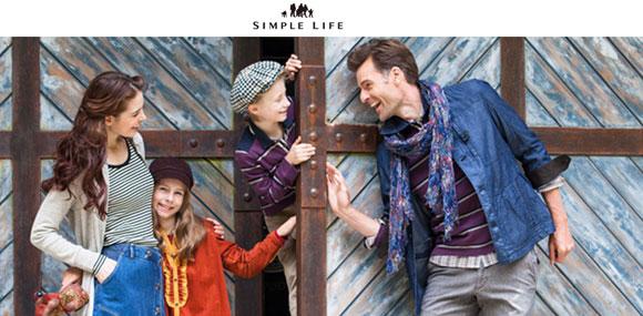 SIMPLE LIFE国际知名休闲品牌 Simplelife