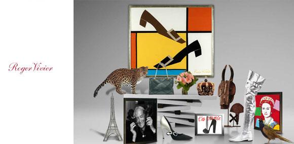 罗杰·维威耶 Roger Vivier来自巴黎时尚鞋履