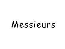 男莊MESSIEURS