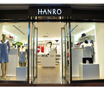HANRO店铺展示