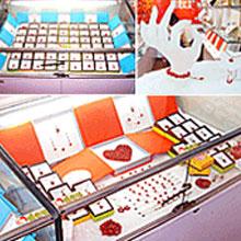 红豆饰品店铺展示