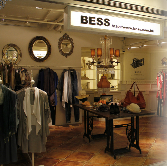 BESS 店铺展示