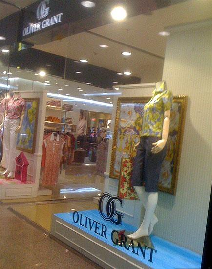 奥利维·格兰特店铺展示