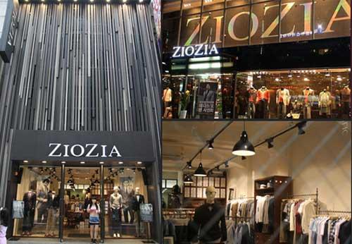 ZIOZIA店铺展示