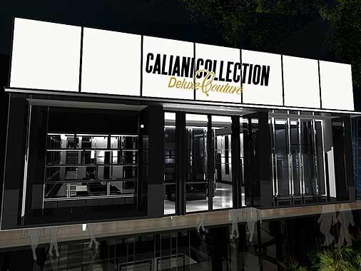 卡利亚尼店铺展示