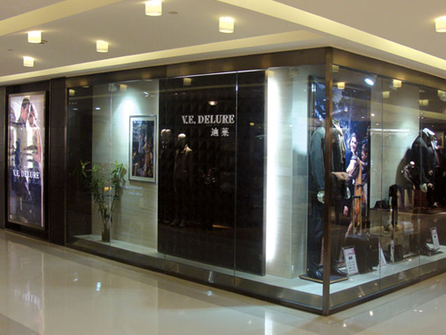 迪莱V.E.DELURE 专卖店品牌旗舰店店面