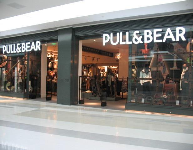 Pull & Bear店铺展示