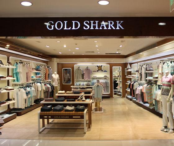 金鲨鱼店铺展示