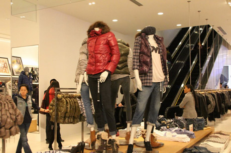H&M Divided店铺展示