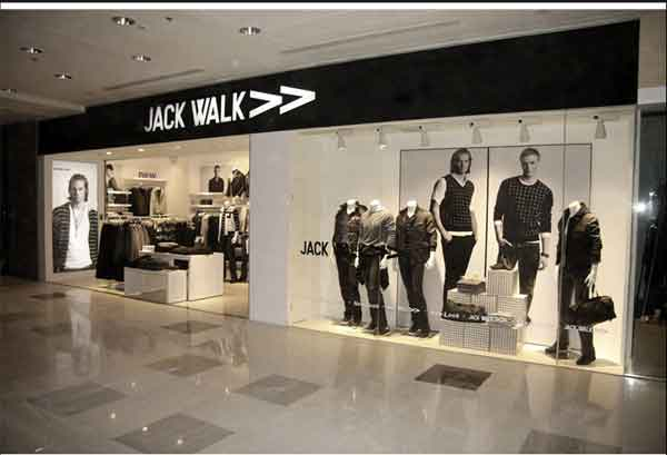 JACK WALK店铺展示