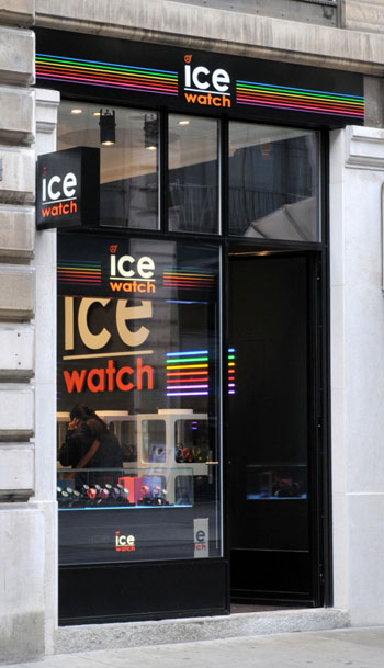 ICE WATCH店铺展示