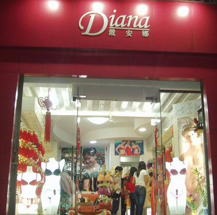 戴安娜店铺展示
