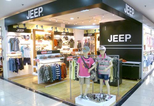 Jeep店铺展示