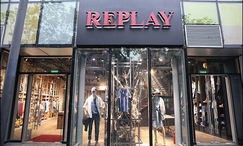 REPLAY店铺展示