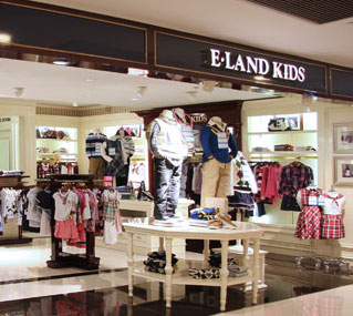 E LAND KIDS店铺展示