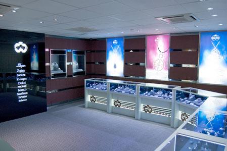 皇庭珠宝店铺展示