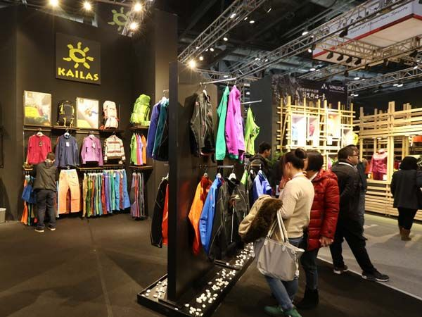 ISPO BEIJING亚洲运动用品与时尚展展会现场展示