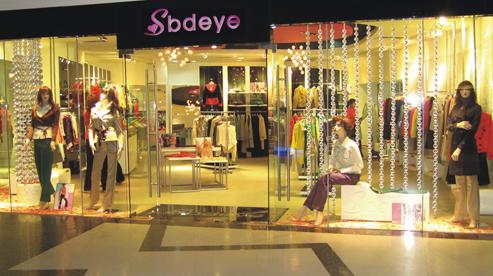 两间女装店面设计图