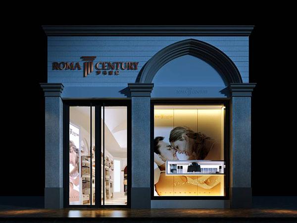 罗马世纪店铺展示