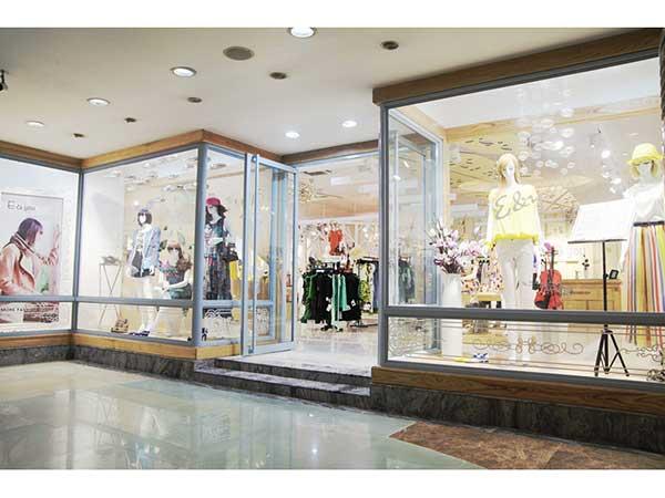 【实图】伊可爱女装店面形象设计_伊可爱女装专卖店