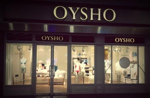 Oysho店铺展示