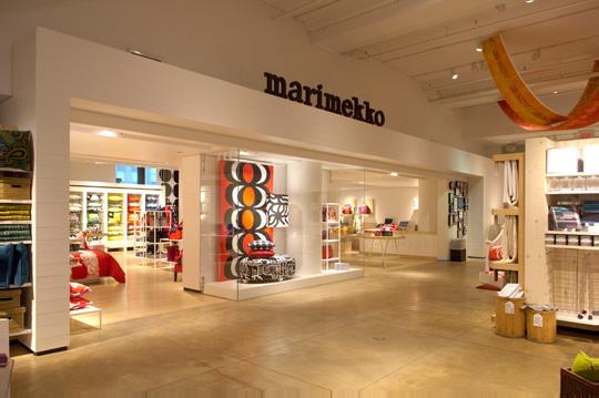 Marimekko店铺展示