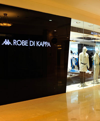 KAPPA店铺展示