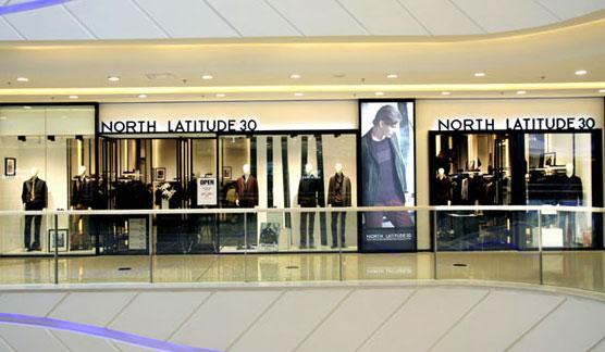 北纬30度男装专卖店形象图