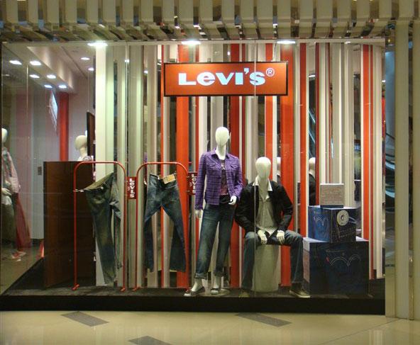 Levi's店铺展示