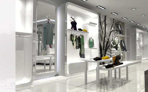 【实图】赞雅女装店面形象设计_赞雅女装专卖店橱窗
