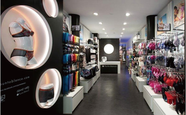 Punto Blanco店铺展示