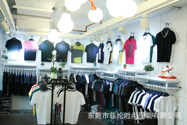 菲纶时尚店铺展示