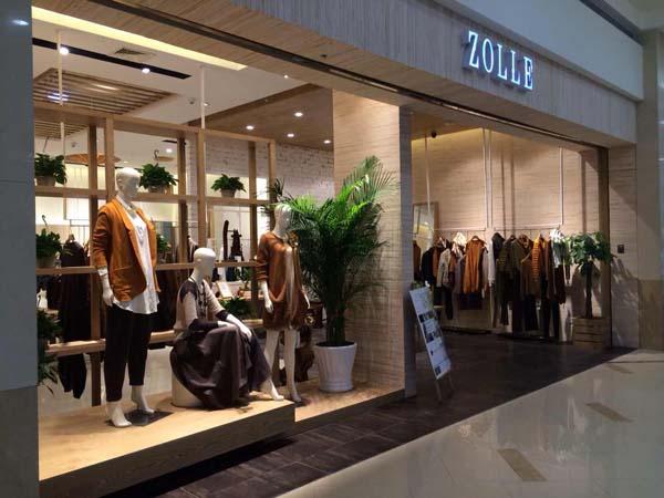 因为ZOLLE女装店铺展示