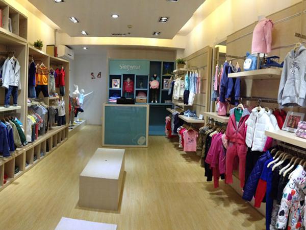 SINGWEAR KIDS店铺展示