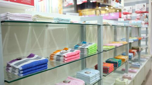 京京毛巾店铺展示
