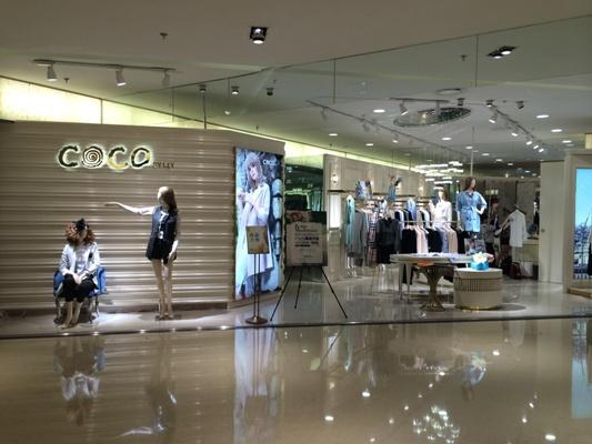 韩国可可店铺展示
