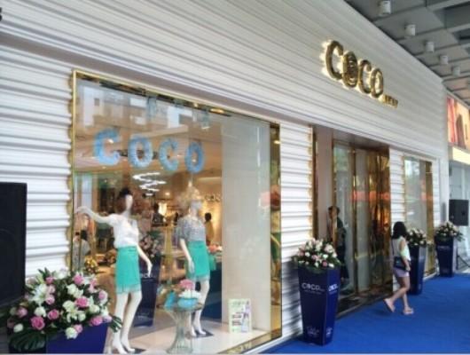 【实图】韩国可可服饰女装店面形象设计_韩国可可服饰