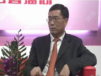 2015上海CHIC专访浙江台绣服饰有限公司王总