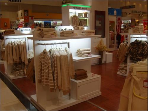 绿典彩棉店铺展示