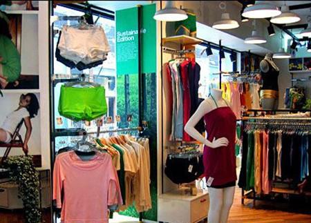 aa美国服饰店铺展示
