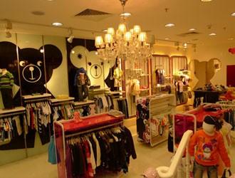 【实图】黑白熊童装店面形象设计_黑白熊童装专卖店